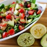 Chicken BLT Salad with Citrus Tomatillo Dressing - 3