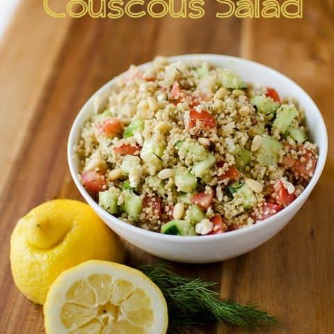 Mediterranean Couscous Salad - Krafted Koch