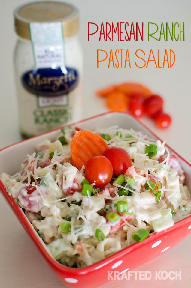 Parmesan Ranch Pasta Salad 2