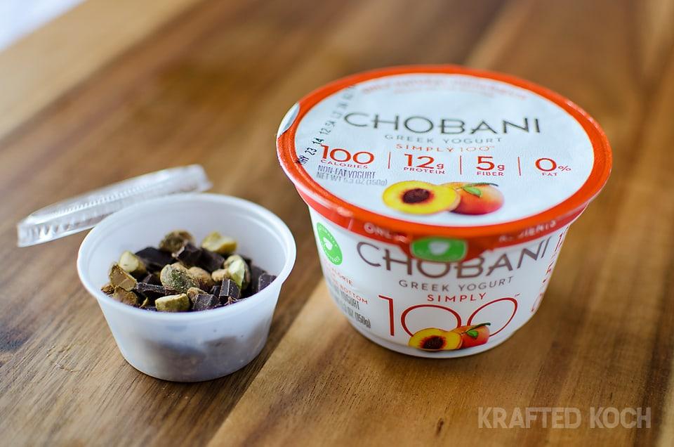 chobani simply 100 greek yogurt peach