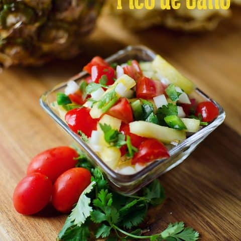 Pineapple Pico de Gallo - Fresh & Healthy