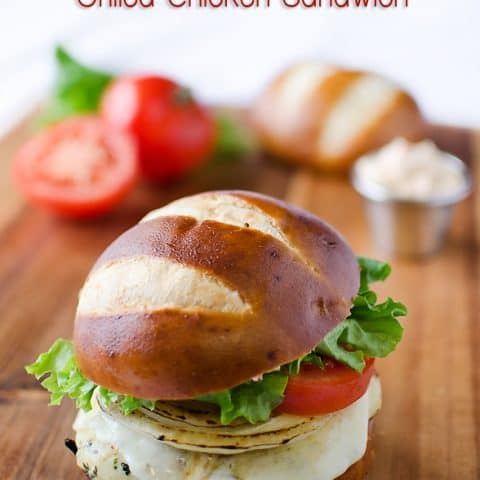 Roasted Red Pepper & Provolone Chicken Sandwich 1 copy