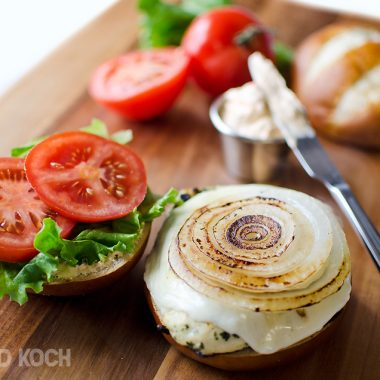 Roasted Red Pepper & Provolone Chicken Sandwich 2