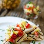 Light Chipotle Chicken Quesadilla - Krafted Koch