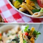 Southwest Penne & Romaine Salad