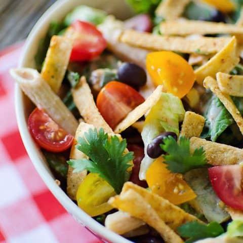 Southwest Penne & Romaine Salad