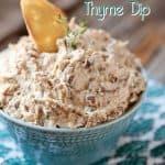 Caramelized Onion & Thyme Dip - Krafted Koch