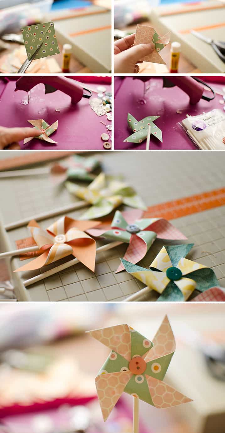 Pinwheel Cupcake or Muffin Toppers Tutorial - Krafted Koch