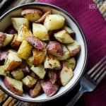 Roasted Dijon & Dill Potatoes - Side Dish - Krafted Koch