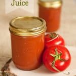 Homemade Canned Tomato Juice - Krafted Koch