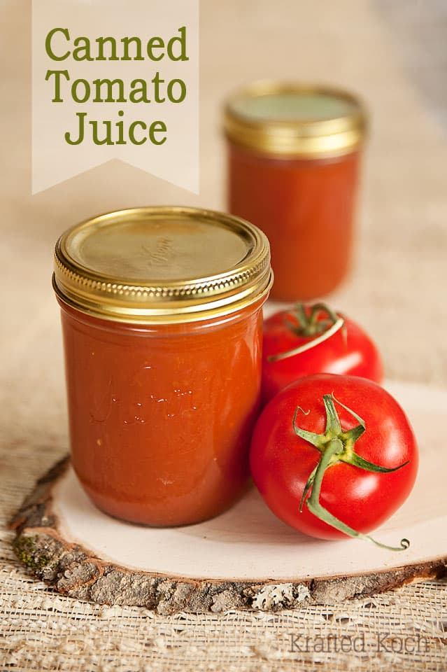 Grandma's Homemade Spiced Tomato Juice - Canning Recipe ~ Page 2 of 2