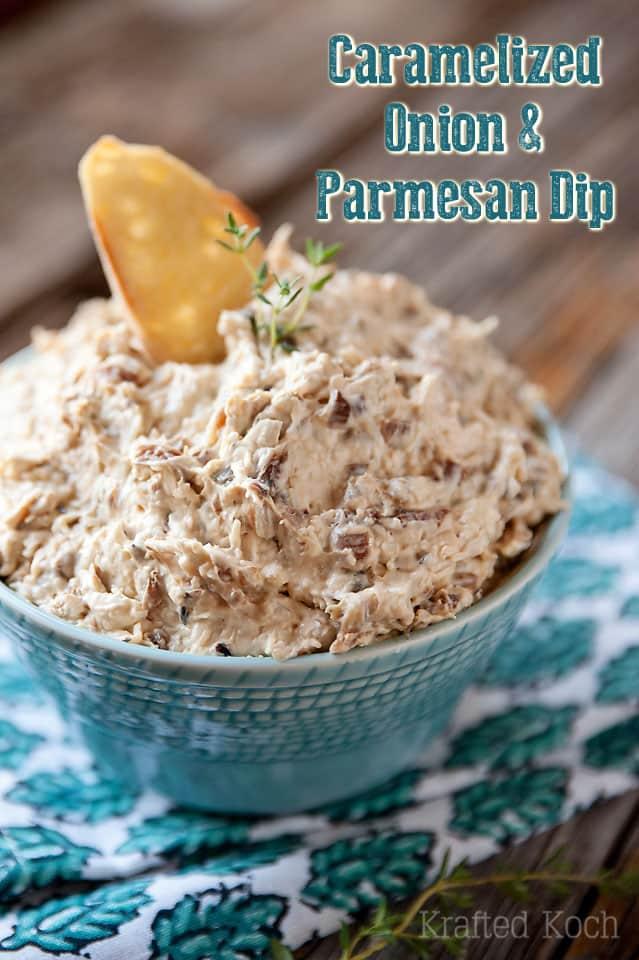 Caramelized Onion & Parmesan Dip - Krafted Koch