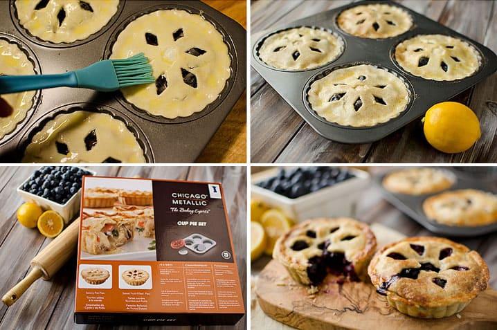Mini Blueberry & Meyer Lemon Cream Pies ~ Page 2 of 2 ~ The Creative ...