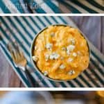 Three Cheese Crock Pot Buffalo Mac n Cheese - Krafted Koch - A quick and easy mac n cheese recipe for your Crock Pot bold buffalo flavor!