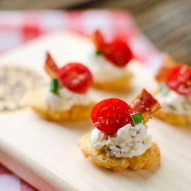 Asiago BLT Bites - Krafted Koch