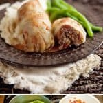 Beef, Rice & Vegetable Stuffed Cabbage Rolls - Krafted Koch - An old comforting dinner recipe made healthier with the addition of lots of vegetables!