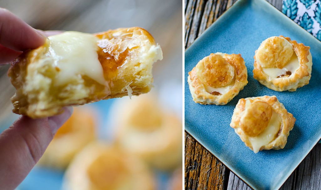 Brie and Apricot Puffs - Krafted Koch