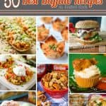 50 Best Buffalo Flavored Recipes Round Up - Krafted Koch - From game day snacks, to savory appetizers and cheesy dinner recipes, these buffalo recipes kick up the flavor!