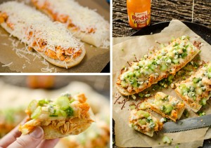 Cheesy Buffalo Chicken French Bread - Krafted Koch