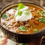Healthy Crock Pot Taco Soup - Krafted Koch