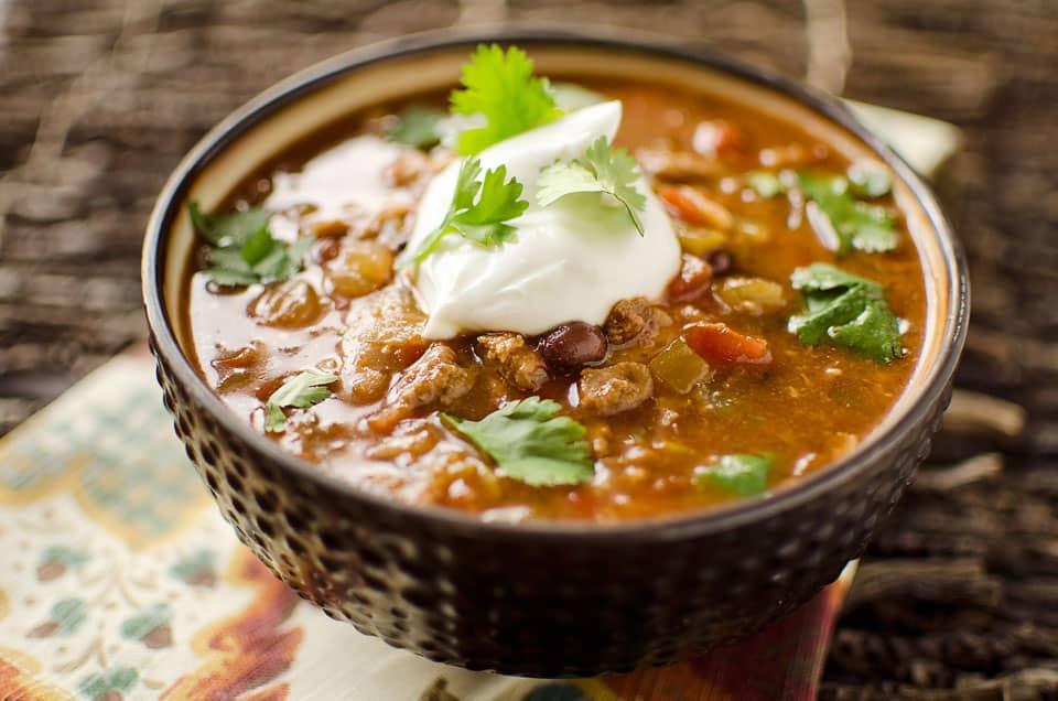 Healthy crock pot taco soup for Healthy crock pot recipes vegetarian