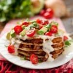 Cheesy Chicken Enchilada & Tortilla Stacks - Krafted Koch