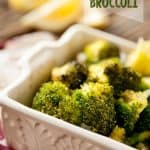 Roasted Lemon Broccoli - Krafted Koch