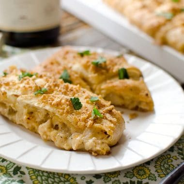 Creamy Chardonnay Turkey Crescent Braid - Krafted Koch