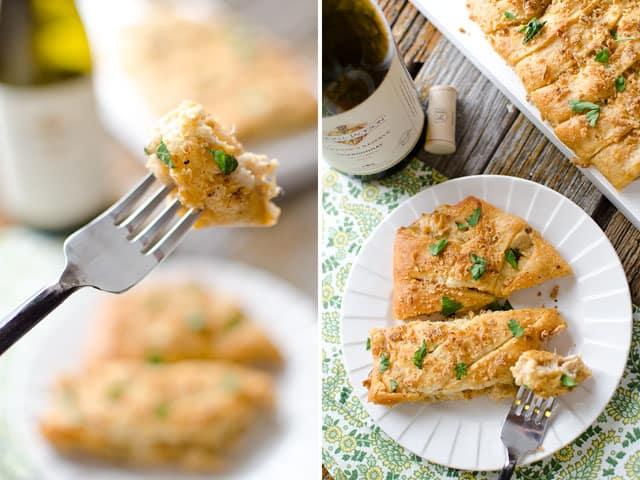 Creamy Chardonnay Turkey Crescent Braid - Krafted Koch