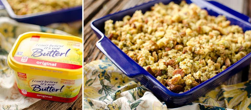 Crock Pot Bacon & Cornbread Stuffing - Krafted Koch