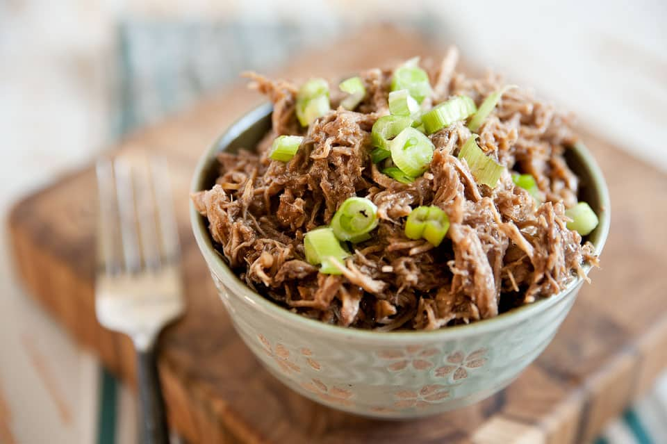 Crock Pot Honey Balsamic Pulled Pork - Krafted Koch