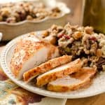 Crock Pot Turkey Breast with Cranberry Sauce - Krafted Koch