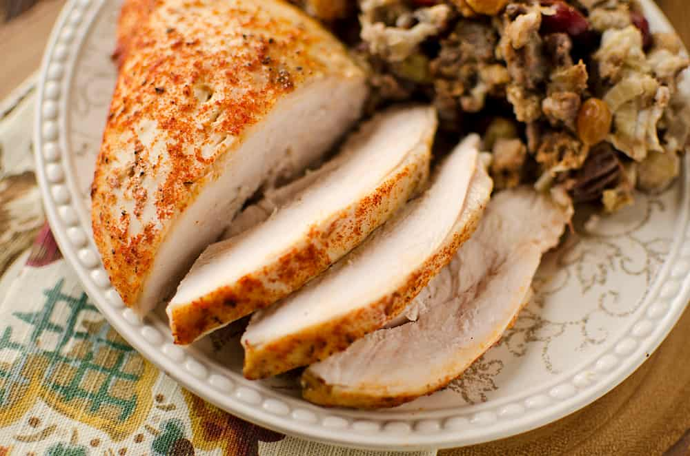 sliced crock pot turkey breast