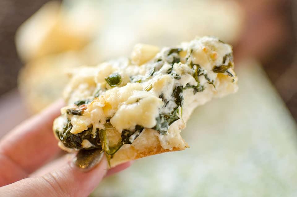 White Cheddar & Spinach French Bread - Krafted Koch