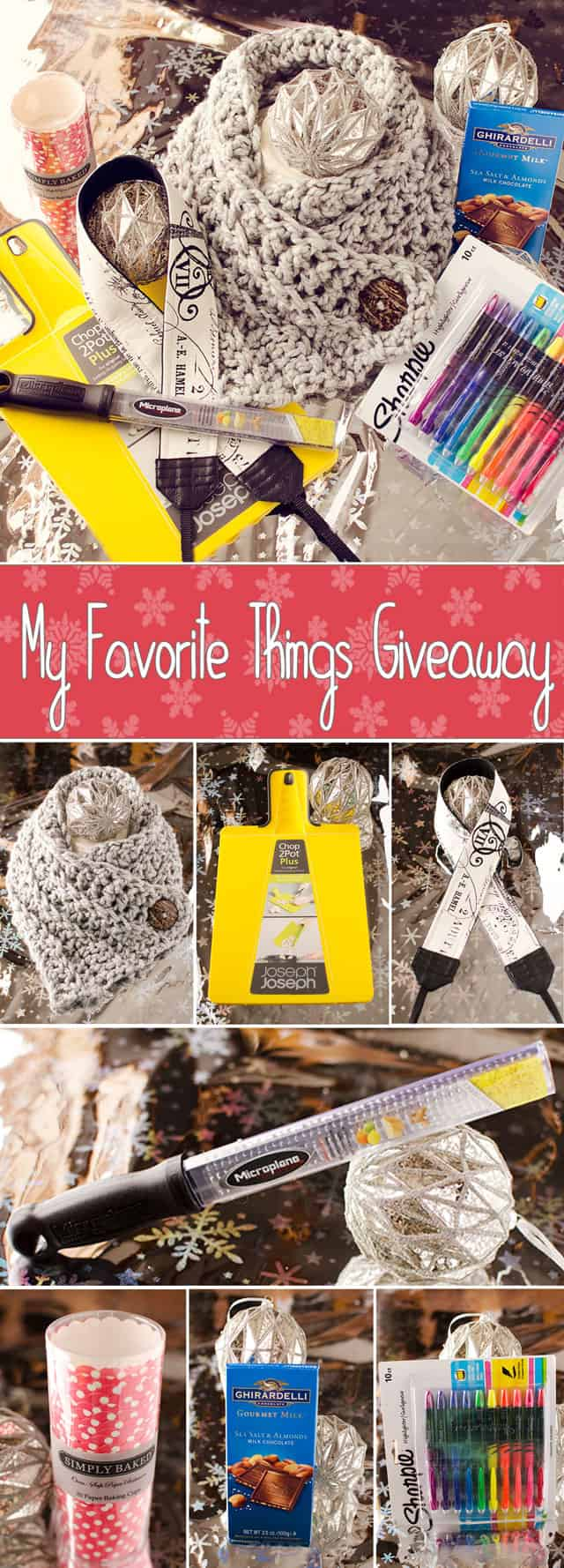 My Favorite Things Giveaway 2014 - Krafted Koch