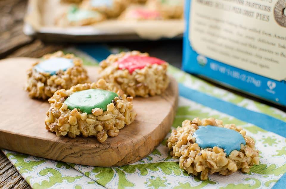 Walnut Thumbprint Cookies - Krafted Koch - My favorite Christmas cookie recipe that everyone loves!