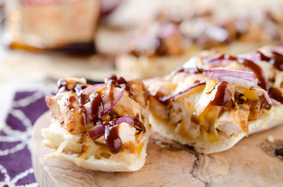 BBQ Chicken French Bread - Krafted Koch