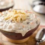 Crock Pot Creamy Chicken Wild Rice Soup - Krafted Koch