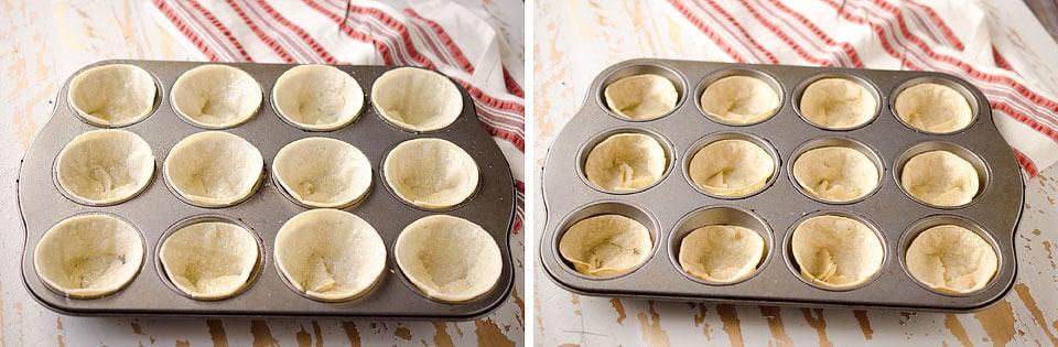 Light Mini Turkey Taco Cups - Krafted Koch