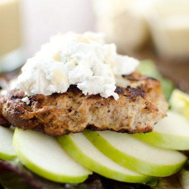 Roasted Garlic, Apple & Chicken Burger - Krafted Koch