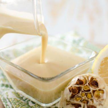 Roasted Garlic & Lemon Dressing - Krafted Koch