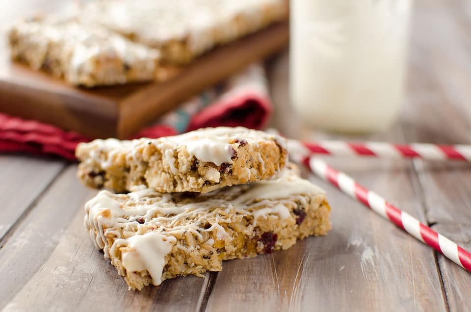 Tropical White Chocolate Energy Bars - Krafted Koch