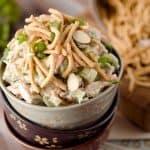 Light Creamy Chinese Chicken Salad - Krafted Koch