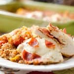 Pizza Stuffed Chicken Quinoa Bake - Krafted Koch