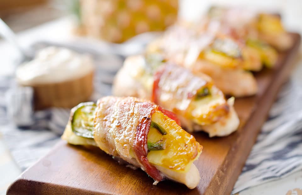 Roasted Jalapeno, Pineapple & Chicken Tenders