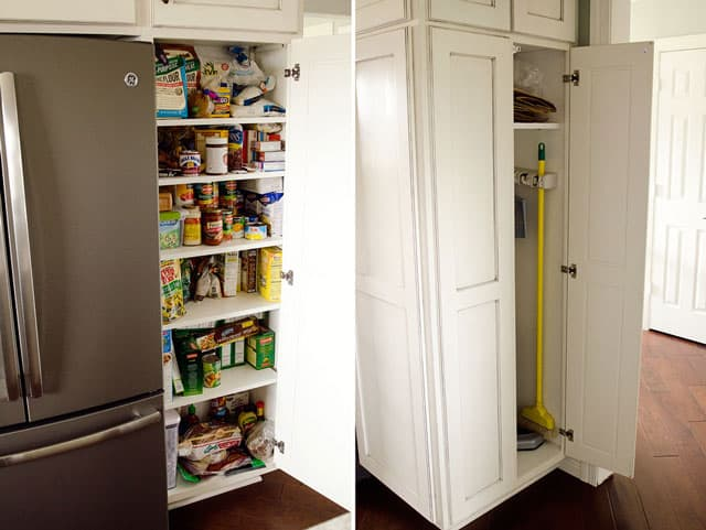 New Kitchen Remodel House - Pantry & Broom Closet Combo