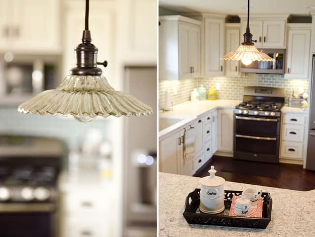 New Kitchen Remodel House - Pottery Barn Mercury Glass Whitney Classic Pendant Light