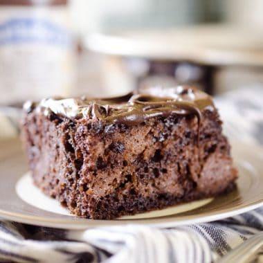 Dark Chocolate Dream Cake