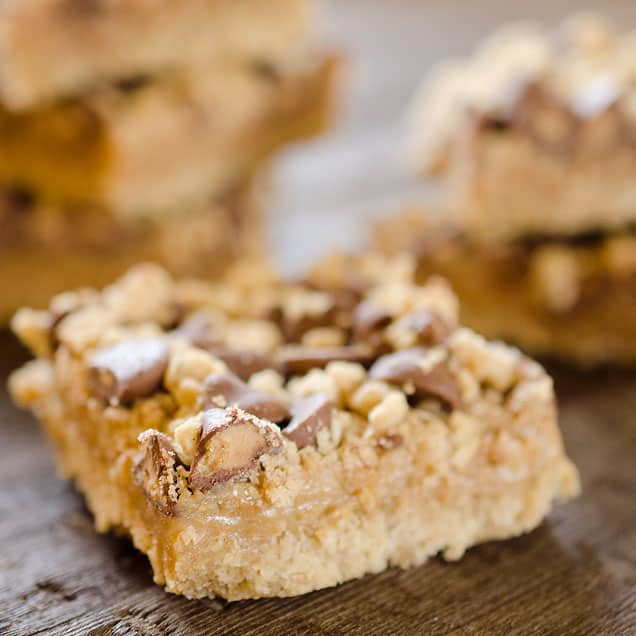 Peanut Butter & Chocolate Dream Bars
