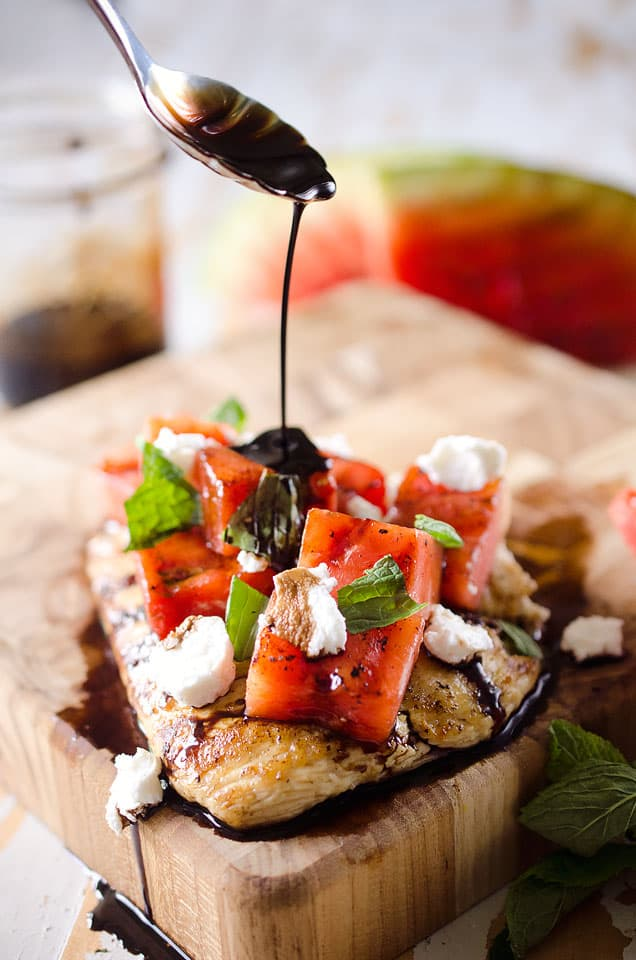 Grilled Watermelon & Balsamic Chicken (6)